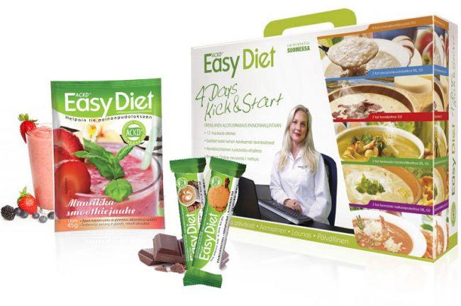 ACDK Easy Diet -tuotteet aktivoivat ketoosin
